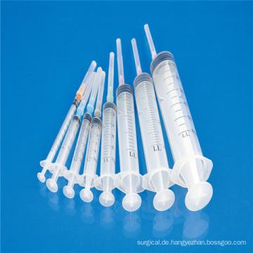 Medizinische sterile Wegwerfspritze mit CER ISO SGS GMP TUV