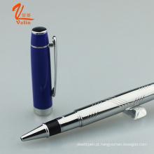 Novo Modelo Metal Roller Pen Metal Escrevendo Caneta