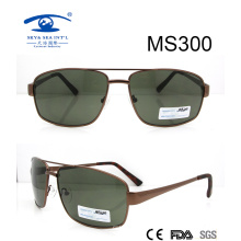 2016 New Arrival High Quality Gold Frame Metal Sunglasses (MS300)