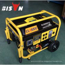 BISON CHINA TaiZhou 3kw Motor Einphasige Silent Magnetische 3kw Generator Benzin Zum Verkauf