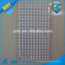 Konkurrenzfähiger Preis benutzerdefinierte Wasser Schaden Indikator Anti-Wasser-Aufkleber-Stick in der Handy-Rückseite