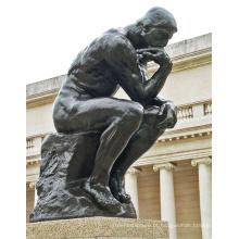 Estátua bronze pensador BS2025L