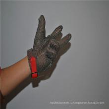Нержавеющая сталь теплостойкая и порезостойкие перчатки мясника
