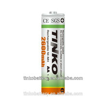 high quality NI-MH 1.2v size C rechargeable battery