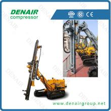 Portable diesel borehole drilling machine
