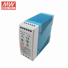 UL do tamanho de MW MDR-40-5 UL & CUL & TUV & CB & fonte de alimentação do trilho do ruído do PFC 6A 30W 5V do CE & do CE