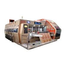 Carton machinery manufacturer price 2 colors printing die cutting