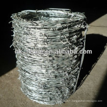 Hot Sale manufacture barbed wire price per roll for sale