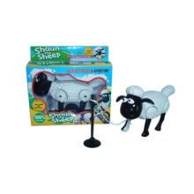 Niños ovejas eléctricas de plástico alrededor de la pila (10215754)