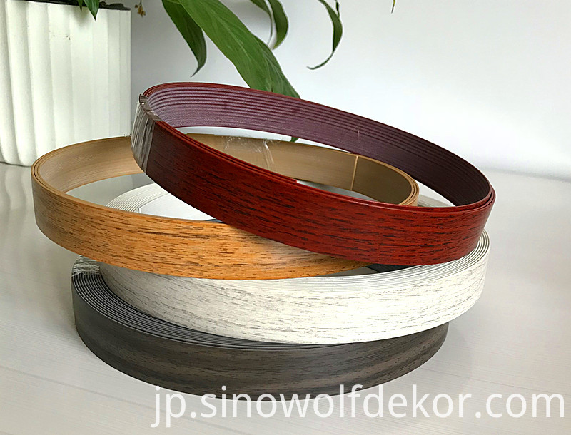 Wood Grain Edge Banding PVC (2)