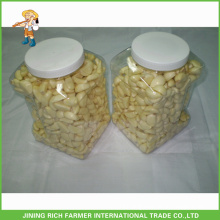 Top Quality Chinese Fresh Peeled Garlic in 5LBS jar for export