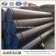 black painting api5l b carbon seamless steel pipe on sale