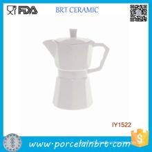 Innovate Separable White Porcelain Coffee Pot