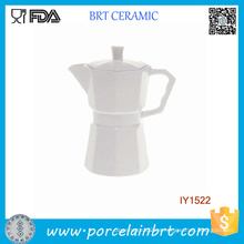 Cafetera de porcelana blanca separable Innovate