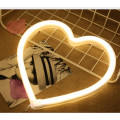 Heart Neon Sculptures Muestras de pared