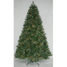 Realist Artificial Christmas Tree with String light Multi Color LED Decoration (AT1002)