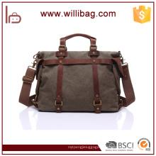Qenuine Sac en cuir pour homme Messenger Bag Sacs à bandoulière pour les hommes