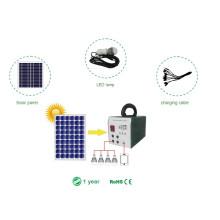 Sistema de energía solar de la solución 25W solar portable con la energía de la iluminación