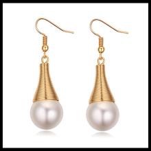 2016 wholesale fashion designs new model earrings pearl earring