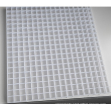 eggcrate grille plastic,High quality square air conditioner tuyere shutter supply outlet Egg crate