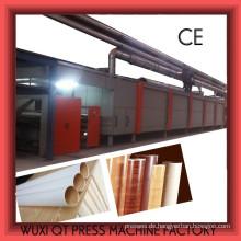 Imprägnierlinie für Malemine Papierblatt / Melamin Papier Blatt Schneidemaschine