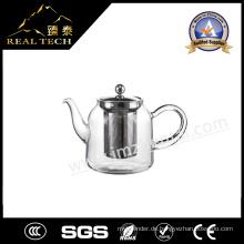 Blown Transparente Kongfu Duftglas Teekanne mit einzelnen Wand Glas Cups