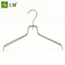 customize gun color metal clothes hangers for fashion shops