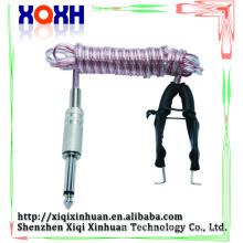 Venda al por mayor la cuerda durable del clip del tatuaje del silicón para la pluma de derma eléctrica, compone los kits del aerógrafo