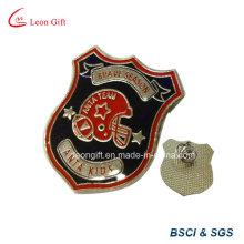 Esmalte relleno bronce insignia Pin