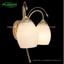 Европейский стиль стеклянная настенная лампа / Бра Бра для украшения (8103 / 2W)
