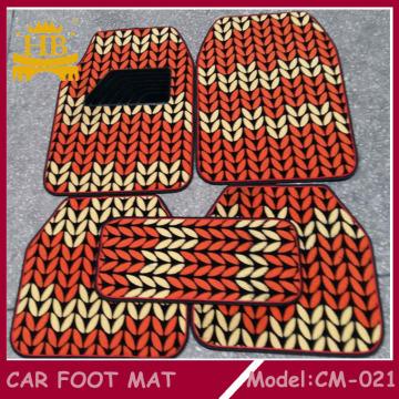 PVC + Fell Auto Fußmatte, Automatte