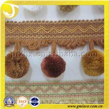 cotton pompom tassels