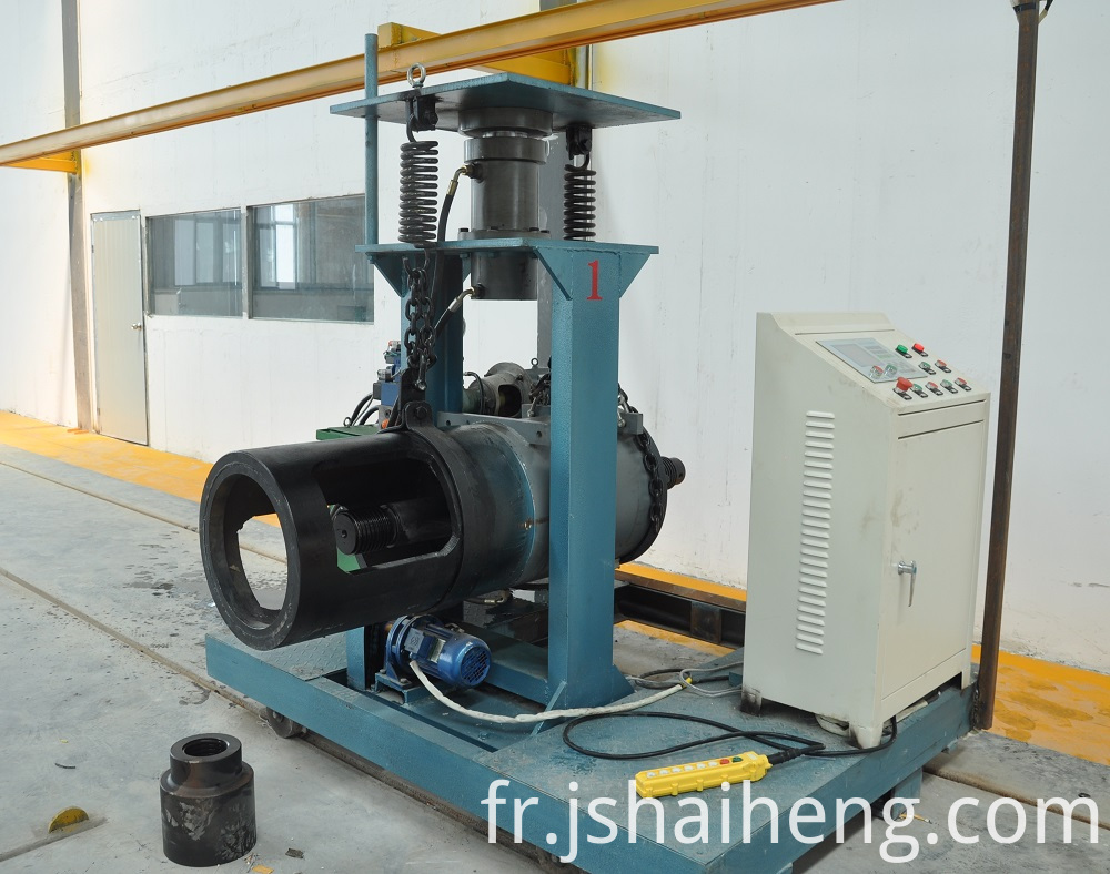 Spun Pile Tension Machine