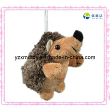 Small Plush Cute Hedgehog Keychain
