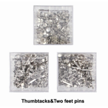 Thumbtacks& Two feet pins for office