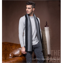 Men′s Fashion Striped Wool Polyester Nylon Acrylic Woven Scarf (YKY4612)