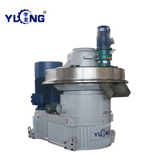 Yulong wood pellet press price