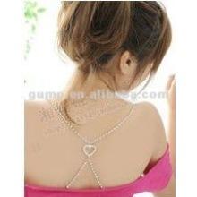 pretty heart rhinestone bra strap ( GBRD0145)