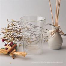 High Borosilicate Double Wall Glass Cup