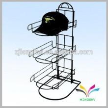 Fábrica de diseño de OEM Desechos metálicos sombrero medio estante redondo en China