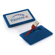 Mini memoria USB portátil de la forma de la tarjeta de la impulsión de la pluma para el regalo del negocio
