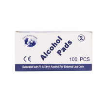 Isopropyl Alcohol Cleaning Wipes Pads for Disinfecting