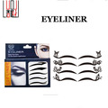 Novo tipo ambiental Face adesivos moda olho adesivo removível