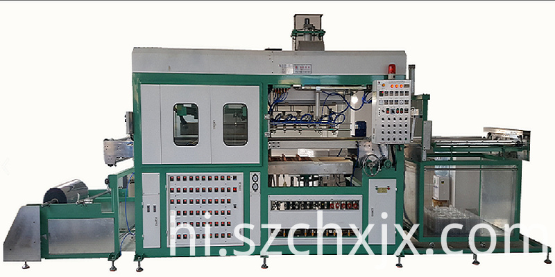 New design fully automatic plastic blister forming machine