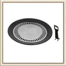 Parrilla de barbacoa para estufa sin humo para interiores y exteriores de 13 pulgadas (CL2C-CGP16)