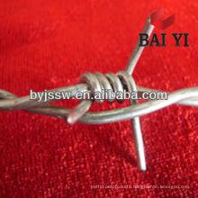 12.5 gauge galvanized barb wire