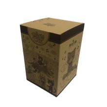 Quadratische Kraft-Geschenkboxen