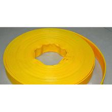 Cinta de riego de manguera de PVC Layflat