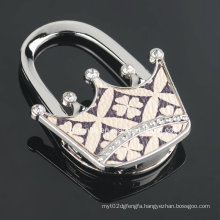 Shiny Crown Purse Hook for Wedding Gifts