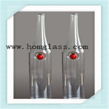 Alta qualidade Borosilicato De Vidro Garrafa De Vinho Apothecary Jar Rodízios